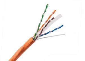 China LSZH Jacket  Copper Ethernet Cable , 4 Pair 1st Generation Cat6A UTP Cable on sale