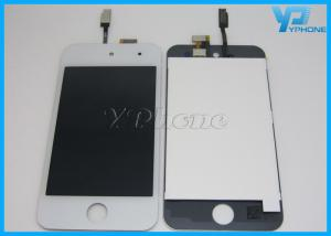 China White / Black 4th IPod Touch LCD Screen Digitizer Replacement on sale