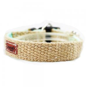 China C510 Wholesale Custom Logo Luxury Pet Leash Hemp Dog Collar on sale