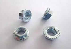 China Metals Stainless Steel Bolts and Nuts , hex flange nuts for Go Kart on sale