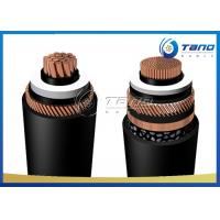 IEC 60840 HV Power Cable 66kV High Voltage Copper Cable 630mm2 With Copper Wire Shield