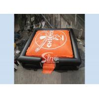 10x10m outdoor adults big inflatable air bag for adventure games