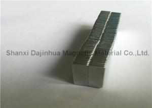 China Square Neodymium Block Magnets , Rare Earth Magnets for industrial and Micro products on sale