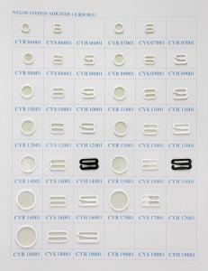 China Nylon Coated Rings, Slides and Hooks on sale