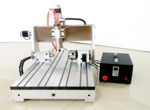 China High Speed Version Desktop 6040 CNC Router , Benchtop CNC Milling Machine on sale