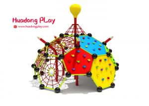 China Preschool Children'S Rope Climbing Structure Playground Pearl Type 440*440*400 on sale