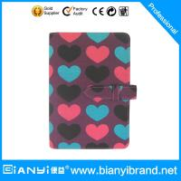 China Fabric cover note book with refiller paper A5 size on sale