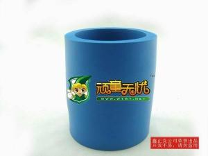 China colorful soft silicone rubber can holder on sale