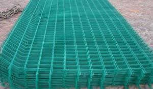China pvc coated wire mesh fence panel on sale