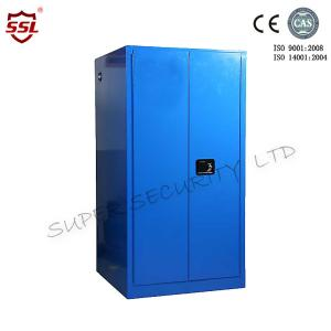 China Tall Hazardous Corrosive Chemical Storage Cabinet Free Standing , Vertical Type on sale