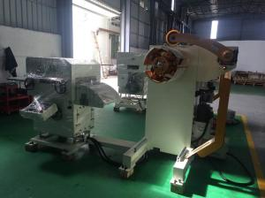 China User Defined Design Uncoiler, Straightener, Feeder, 3 In 1 For 3.2 mm Thickness Material Feeding on sale