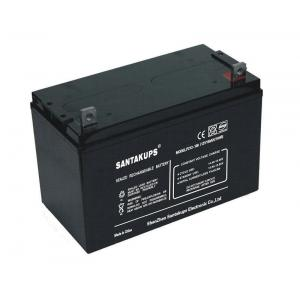 China 12V 100Ah Rechargeable Sealed Lead Acid Battery For Power Systems on sale