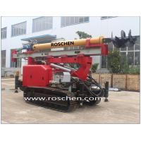Multifunction Hydraulic Crawler Drilling Rig Machine for Jet Grouting RS-160