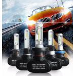 auto parts, led S1 white LED headlight h1 h3 h4 h11 h8 h9 h10 HB3 HB4 CSP 50w 8000lm 12V 24V 8000LM led headlight bulbs