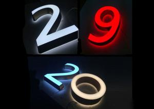 China Customized Acrylic Channel Letter 3d Led Display Letter Sign on sale