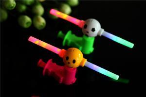 China Flash cartoon children music push windmills Plastic children's toys on sale