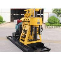 China 180m Rotary Bore 15KW Small Water Well Drilling Rig Machine on sale