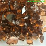 1/4' 1/2' Copper Tempered Broken Glass for Outdoor Fire Pit