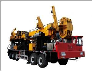 China Truck Mounted Surface Core Drilling Rig For Water Well / Coalbed Gas Drilling on sale