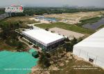 Aluminum Cube Clear Span Tents with Thermal Roof Cover for Office House