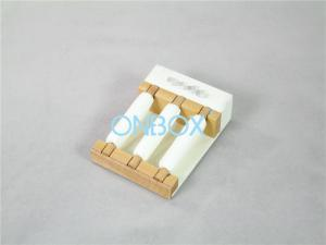 China Wooden Elegant Jewelry Display Stands Finger Ring Removable Bolsters on sale