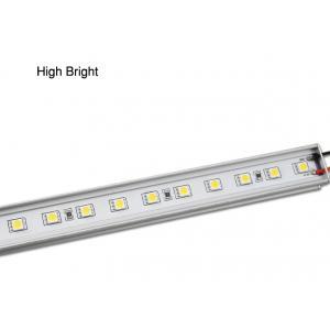 China Haut 14.4W lumineux DC12V 24mm * 10mm 5050 lumières fluorescentes de bande rigide de SMD LED on sale