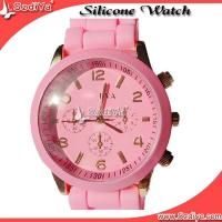 High quality quartz watch,silicone rubber watch