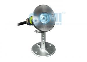 China Long Life Span Round LED Underwater Spot Light Warm White With Bracket on sale