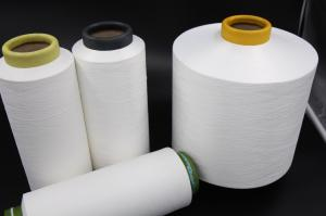 China Semi - Dull 100% Pes Draw Texturing Yarn For Embroidery / Weaving And Knitting on sale