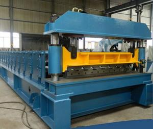 China Металлический лист контрольного оттиска PLC формируя плитку крыши оборудования формируя машину on sale