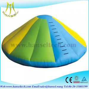 China Hansel Inflatable Water toys For Commercial Use , Adults Water Saturn Rocker on sale
