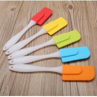 China Sandy Surface Handle Silicone Cooking Utensils Small Size Lightweight on sale