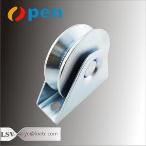 Quality Sliding Door Groove Wheel Sliding Gate Rolles For Sale