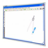 "Good quality 69"" MolyBoard finger write interactive white board/whiteboard/electromagnetic whiteboard/white board"