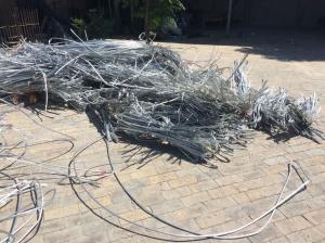 China aluminum wire scrap 99.7 on sale
