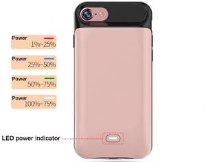 China 2017 rechargeable battery case for iphone phone accessories Portable power bank case for iphone 7 battery case on sale