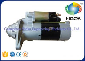 China Silver Isuzu Excavator Starter Motor Engine 6sd1 6uz1 M009t62371 , OEM Service on sale