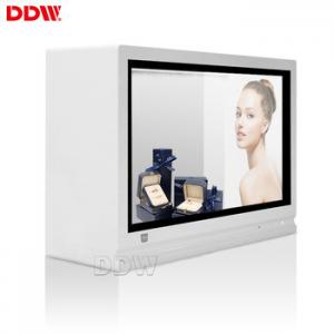 China Quality 32 inch transparent digital signage display 700cd/m2 brightness 16.7M For retail store DDW-ADTS3201 on sale