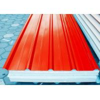 China Orange Prepainted Galvanized Steel Coil With Hot Dipping Processe on sale