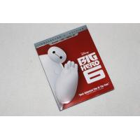 2016 Blue ray Big Hero 6 2discs carton dvd Movies disney movie for children DHL free shipp
