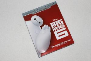 China 2016 Blue ray Big Hero 6 2discs carton dvd Movies disney movie for children DHL free shipp on sale