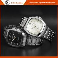 China 039A Customized Watch OEM Watch Stainless Steel Band Famous Branding Watch Man Square Dial on sale