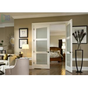 China Aluminium Alloy Arched Exterior Swing Doors , Series 90 Double Hinged Door Mechanism on sale