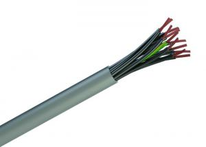 China Flexible PVC Insulated Control Cable , YY Control Cable 450 / 750 V Cu Conductor on sale