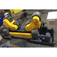 Self Aligning Rotator , Pipe Welding Rollers PU 20 Ton 1.5Kw Inverter Motor