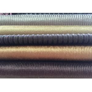 China nueva tela del terciopelo de la raya de la tela de la pana del diseño de 11W 14W 21W 28W para la ropa on sale