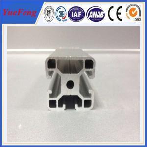 Quality 3D printer parts T slot aluminium extruded sections aluminium frames profile for sale