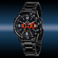 China WEIDE Luxury Date Day Analog LED Display Men's Diving Sport Army Watches on sale