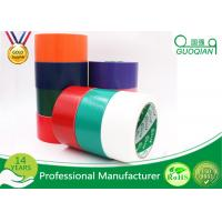 Black / Red / White PE Coated Cloth Adhesive Tape For Decorative Masking
