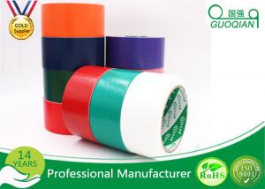 China Black / Red / White PE Coated Cloth Adhesive Tape For Decorative Masking on sale